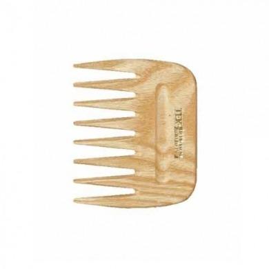 Peigne afro à dents larges frêne naturel