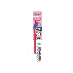 Brosse à dents en nylon pour enfants à tête interchangeable