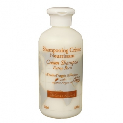 Shampooing à l'huile d'Argan Biologique