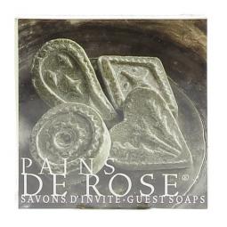 4 savons d'invités rose Tadé
