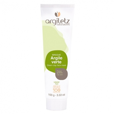 Masque d'Argile Verte - Peaux Grasses