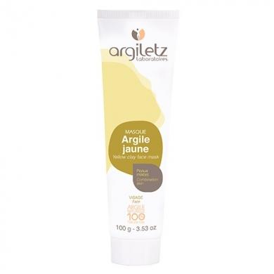 Masque d'Argile Jaune - Peaux Mixtes
