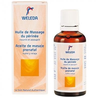 Huile de massage du périnée