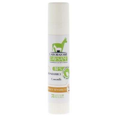 Crème réparatrice Camomille - 50% lait d'anesse