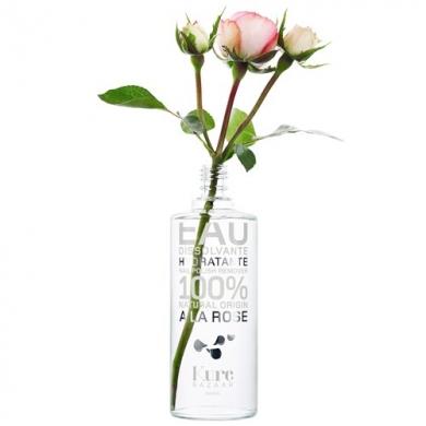 L'eau dissolvante hydratante à la Rose