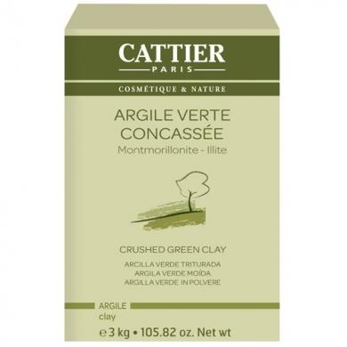 Argile verte surfine - 3kg