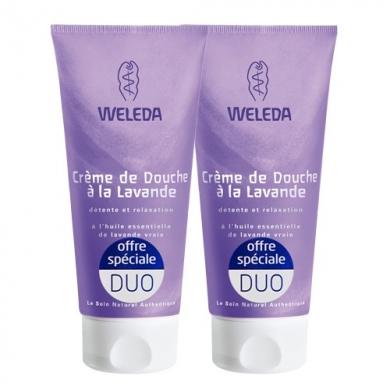 Duo Crème de douche à la Lavande