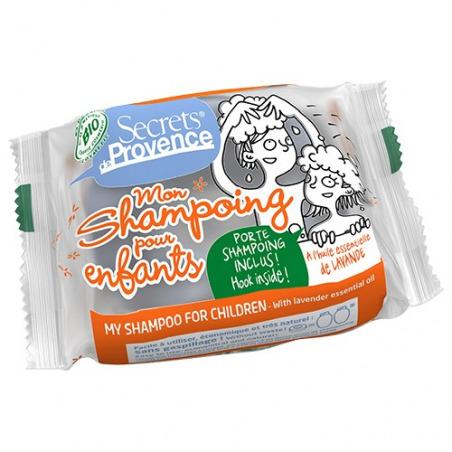 Shampooing solide pour enfants à la Lavande