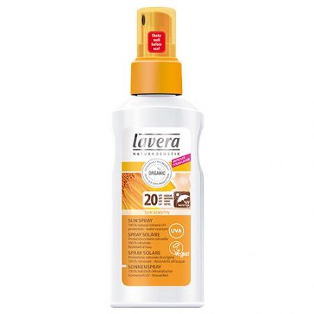 Spray solaire SPF 20