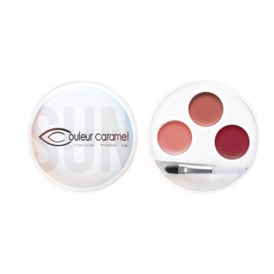 Palette 3 rouges à lèvres n°31 Swahili