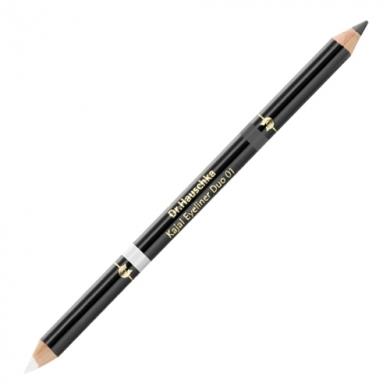 Crayon Duo Kajal 01 Blanc/Anthracite