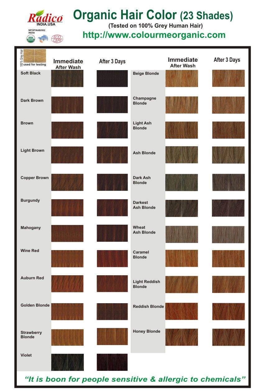 Coloration Pour Cheveux Biologique Colour Me Organic