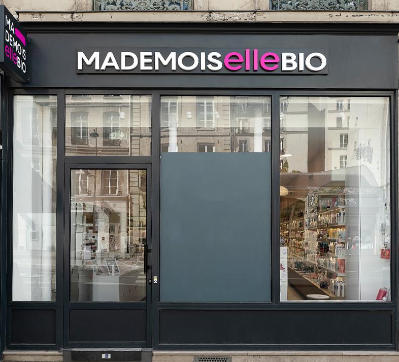 Gamme de produit Mademoiselle bio