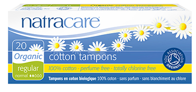 Tampons réguliers sans applicateur